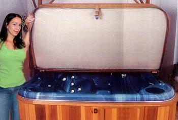 Hot Tub Cover Underside